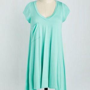 Modcloth Tunic in Seaglass Size 1x